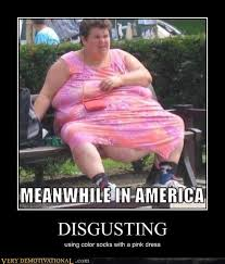 Funny Fat People Meme - disgusting very demotivational demotivational posters very