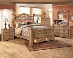 Wood And Wrought Iron Bedroom Sets Foter - King size bedroom set solid wood