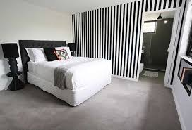 excellent black and white striped wallpaper used by bec and george