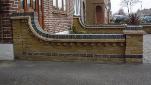 emejing garden brick wall design ideas contemporary decorating