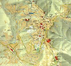 map of perugia city map of perugia mapsof net