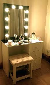 vanity table mirror with lights vanity desk mirror medium size of