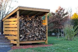 Free Firewood Storage Shed Plans by Firewood Storage Sheds To Store Wood For Winter From East Coast Shed