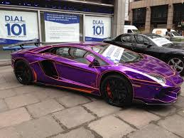 lamborghini purple and black some guy had this car taken from him by london police for it being