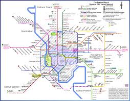 Redline Chicago Map by Finally A Mostly Accurate Map Of Bangkok U0027s Transit Future