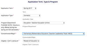 math programs graduate of education