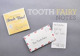printable tooth fairy notes handmade charlotte