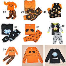 Halloween T Shirts For Girls 2017 2017 Halloween Children Clothing Set Tracksuit For Boys Girls