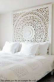 carved teak wall hanging bed headboard unique by indiaexotica