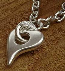 silver necklace womens images Women 39 s solid silver heart necklace love2have in the uk jpg