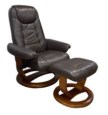 Rocking Chair Clearance Moran Cozy Large Chair Natura Espresso Leather Clearance 680891