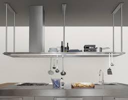 etagere pour cuisine étagère modulable contemporaine en acier inoxydable pour
