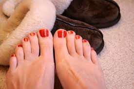 toe nail designs how you can do it at home pictures