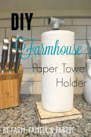best 20 farmhouse paper towel holders ideas on pinterest paper