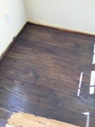 problem staining oak floor can t get it enough