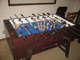 Foosball Table For Sale Looking For Parts For 1977 Coin Op Tournament Soccer Table Blue Top