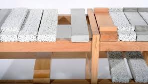Concrete Reception Desk Concrete U0026 Wood Bar Table Architects Independent