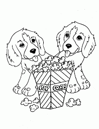 dog coloring page fablesfromthefriends com
