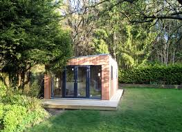 monopitch slanted roof garden studio doesn u0027t require planning