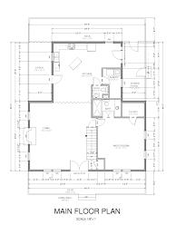 open floor plan cabins 2126 sq ft hillside cabin w open floor plan eetko builders