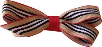 offray accessories black white burberry inspired offray ribbon bow hair