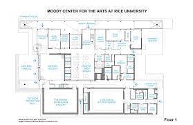 rest floor plan gallery of moody center for the arts michael maltzan