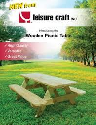 leisure craft picnic tables jordan hunnicutt pubhtml5