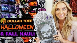 dollar tree halloween u0026 fall haul 2017 dollar tree shop with me