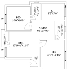 900 sq ft 2 bhk 2t apartment for sale in sri krishna construction