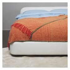 Orange Sofa Throw Throws Cotton Bedspreads Blankets U0026 Wool Throws Habitat