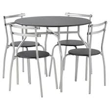 Tesco Dining Table And Chairs Buy Tesco Breakfast Table And 4 Chair Set Black From Our Dining
