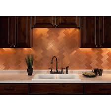 copper kitchen backsplash ideas copper tiles for kitchen backsplash flatworld co
