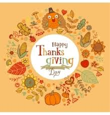 thanksgiving festive frame royalty free vector image
