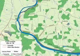 Map Of Loudoun County Va The C U0026o Canal Bicycling Guide Mile 25 Thru 40
