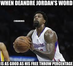 Deandre Jordan Meme - deandre jordan went from mavs back to clippers real quick http