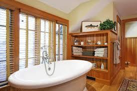 Bathroom Beadboard Ideas Stained Beadboard Ideas Bathroom Rustic With Stand Alone Tub