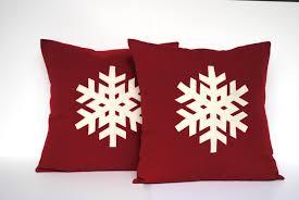 printed christmas pillow cover christmas reindeer deer animal
