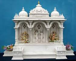 34 best pooja mandir images on pinterest puja room prayer room puja room design home mandir lamps doors vastu idols placement