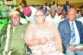 Dr Bade Photos Mimiko Swears In Newly Elected Lg Chairmen The Hope