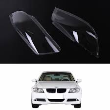 bmw e90 headlights halogen headlight lens plastic shell for bmw e90 sedan e91 touring