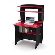 Computer Desk Amazon by Amazon Com Legare Kids Desk With Hutch 36 Inch Red And Black