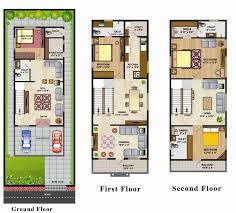 South Facing House Floor Plans Floor Plan Dsl Infra Fortune Villas At Mahindra Hills Hyderabad