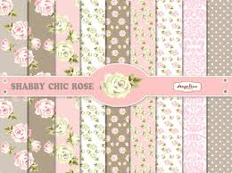 shabby chic wrapping paper 9 shabby chic pink and gray digital scrapbook papers 8x12