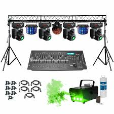 dj lighting truss package prox complete portable multi size lighting truss system with 4x adj
