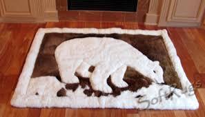 Polar Bear Fur Rug Animal Design Alpaca Rugs In A Range Of Styles U0026 Sizes Softrugs