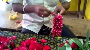 make a rose petals garland working youtube
