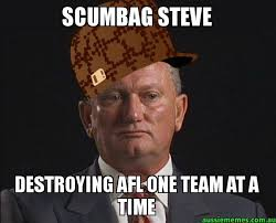 Team Meme - scumbag steve destroying afl one team at a time scumbag steven