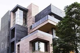 home exterior design in delhi cuboid house new delhi residence new friends colony house e