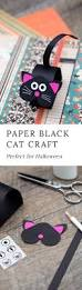 Halloween Cat Crafts How To Make A Paper Bobble Head Black Cat