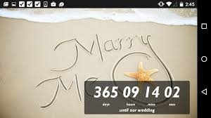 wedding countdown wedding countdown widget android apps on play